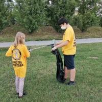 Scientology torna al Parco Tarello per raccogliere rifiuti abbandonati
