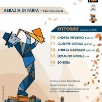 Andrea Infusino quartet il 10 ottobre apre il Fara Music Festival, autumn edition