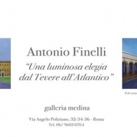Antonio Finelli – Una luminosa elegia dal Tevere all'Atlantico