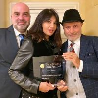 La bellissima Nadia Bengala premiata alla manifestazione cinematografica di Siena