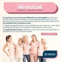 Mammografia tomosintesi Roma | Korian Poliambulatori Lazio