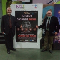 """- Caserta Premiere di successo del film di Nando De Maio """"Il lungo sonno di Sarah"""". (Antonio Castaldo - Reportage)"""