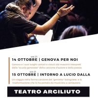 Al Teatro Arciliuto i Salotti Culturali di e con Sasa' Calabrese (Roma, 14-15 Ottobre)