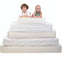 """I materassi in poliuretano si confermano  i più sicuri per il sonno in tenera età.   I neonati vi trascorrono fino a 16 ore al giorno:  corretto sostegno della colonna vertebrale, antisoffoco, prevenzione della """"testa pi"""