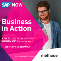 SAP NOW DAYS 2020 - La parola d'ordine è Business in Action!