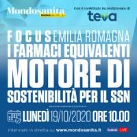 Focus I farmaci equivalenti motore di sostenibilità per il SSN - Bologna, 19 Ottobre 2020 - ORE 10