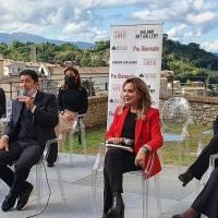 Vittorio Sgarbi, Francesco Alberoni e Salvo Nugnes inaugurano alla grande Spoleto Arte