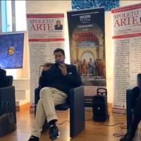 Successo per la conferenza di Salvo Nugnes con Alberoni, Sagnelli, Grifoni e Urbani a Spoleto Arte