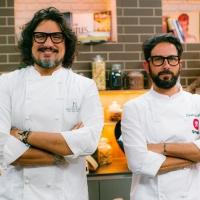 Alessandro Borghese  e   Enrico Schettino presentano la cucina del Sol Levante