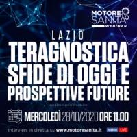 Teragnostica. Sfide di oggi e prospettive future - Lazio, 28 Ottobre 2020, ORE 11