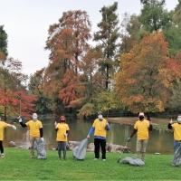 Scientology al Parco Ducos per renderlo più pulito