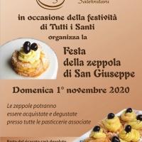 La dolce proposta dell'Associazione Pasticceri Salernitani: la zeppola di San Giuseppe per festeggiare Ognissanti