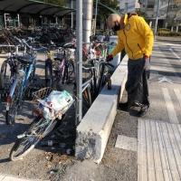 Completate le pulizie dell'area della stazione