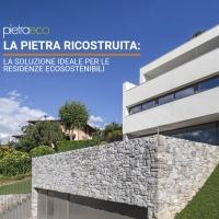La pietra ricostruita: la soluzione ideale per le residenze ecosostenibili.