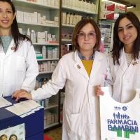 """""""In farmacia per i bambini"""", le Farmacie Comunali al fianco del Thevenin"""
