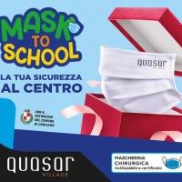 """Il Centro Commerciale Quasar Village presenta """"MASK TO SCHOOL"""""""