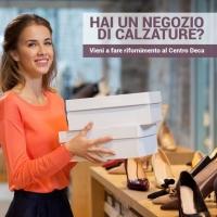 Ingrosso calzature Roma Centro Deca una marcia in più per il tuo store