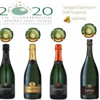 4 Medaglie d'oro per Lantieri al The Champagne & Sparkling Wine World Championship 2020 ideato da Tom Stevenson - Prima Cantina in Franciacorta, seconda in Italia