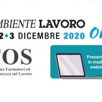 AiFOS: gli incontri in modalità webinar ad Ambiente Lavoro 2020