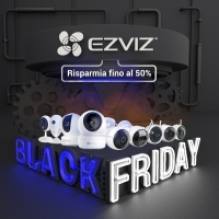 EZVIZ annuncia la Guida ai regali con i migliori gadget per la sicurezza smart home in vista delle vendite del Black Friday e del Cyber Monday 2020
