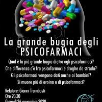 La grande bugia degli psicofarmaci