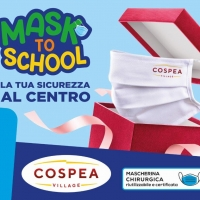 "Il Centro Commerciale Cospea Village presenta ""MASK TO SCHOOL"""