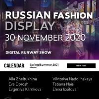 RUSSIAN DIGITAL FASHION DISPLAY 2020