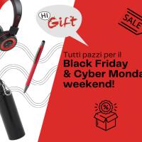 Black Friday & Cyber Monday: corsa agli acquisti anticipati di regali di natale e gadget personalizzati economici