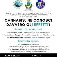 Webinar di prevenzione alle sostanze stupefacenti: Cannabis, ne conosci davvero gli effetti?