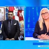 Il ricordo di Diego Armando Maradona, Antonio Luise a