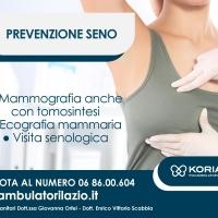 visita senologica con ecografia mammaria | Poliambulatori Lazio Korian