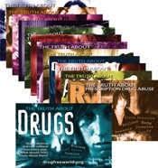 Opuscoli informativi sulla droga distribuiti nei bar e nel centro di San Giovanni V.A
