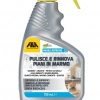 Le soluzioni FILA per la pulizia e la protezione delle superfici in marmo