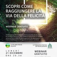 Webinar de La Via della Felicità e la Federazione Islamica del Veneto