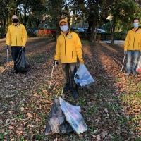 Ripuliti dai Ministri Volontari il parcheggio Marcolin ed il parco IV Novembre