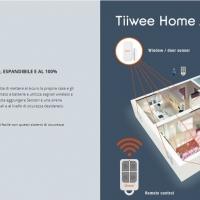 Sistema allarme casa Tiiwee, per sentirsi sempre protetti