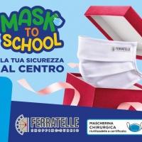 """Il Centro Commerciale Ferratelle presenta """"MASK TO SCHOOL"""""""