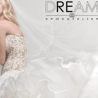 I vestiti da sposa stretti e scivolati presentati da DreamSposa.it - Atelier negozio di Roma