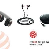 La tripletta di Jabra ai Red Dot Design Award 2013