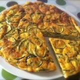 Frittatina al forno con zucchine