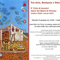 """Tre gli appuntamenti in programma per il percorso """"Tra Storia dell'Arte e Restauro e tra Arte e Psicoanalisi"""""""