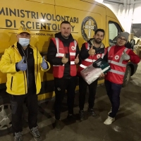 I volontari di Scientology soccorrono la Croazia