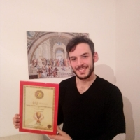 Emanuele Gulino riceve il Premio Internazionale Vincenzo Crocitti 2020 come Attore Emergente