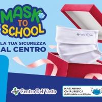 """Provincia di Chieti: Il Centro Commerciale Del Vasto presenta """"MASK TO SCHOOL"""""""