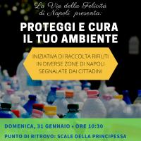 Volontari in azione per una Napoli ancora più pulita