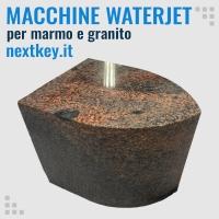 Macchine taglio a getto d'acqua per pietre, marmo e granito