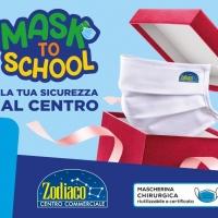 """Il Centro Commerciale Zodiaco di Anzio presenta """"MASK TO SCHOOL"""""""