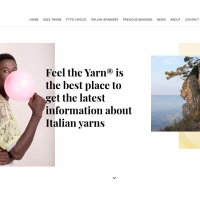 Feel the Yarn: nuova immagine e upgrade dei servizi per www.feeltheyarn.it