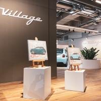 L'arte di Stefano Berardino valorizza le auto elettriche