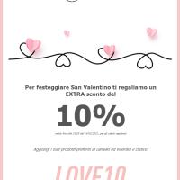 A San Valentino su Easyfarma.it la tua farmacia online i regali sono triplicati !